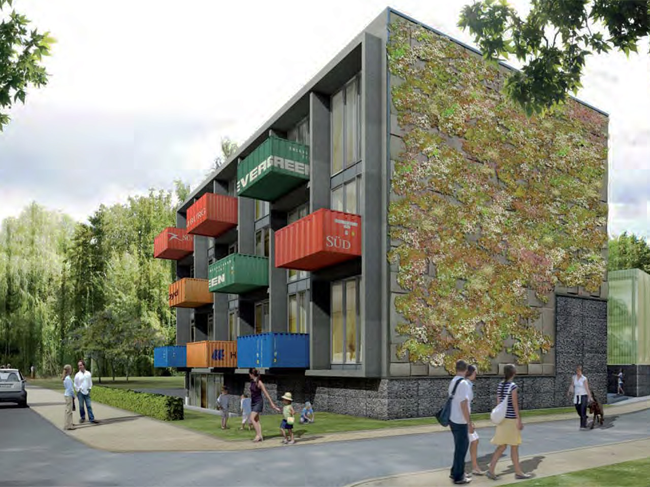 Smart Material Houses